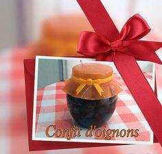 recette CONFIT D'OIGNONS