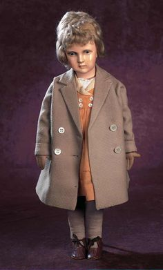 Dora Petzold doll with original costume