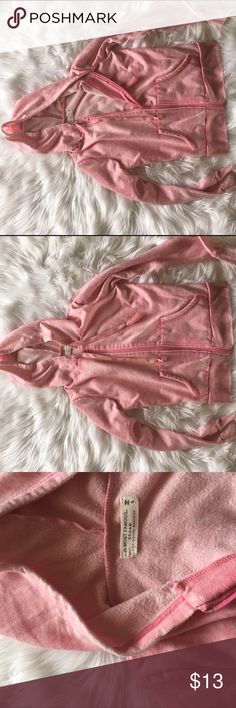 Pink sweatshirt Great condition, distressed look, very soft & light on the inside, price is flexible. *not American eagle* American Eagle Outfitters Tops Sweatshirts & Hoodies