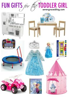 Fun Gifts for the Toddler Girl - Seven Graces Blog