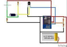 ESP 8266 Mailbox Notifier using DeepSleep and Blynk
