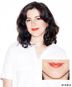 """The Pick:Make Matte Lipstick($25) in Fire The Praise:""""I actually typically avoid lipstick because most formulas are simultaneously drying and messy—I'm not down to reapply... #LipGloss #LipstickForFairSkin Lipstick For Fair Skin, How To Apply Lipstick, Lipstick Set, Lipstick Swatches, Matte Lipsticks, Layers Of The Epidermis, Oil Free Makeup, Lots Of Makeup, Ingrown Hair"""