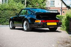 One of 53 UK, right-hand drive cars and only miles. 1989 Porsche 911, Porsche 930 Turbo, 911 Turbo, Vw Beetles, Evolution, Auction, Cars, Classic, Sports