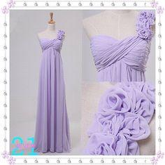 Lilac Bridesmaid Dresses Purple Bridesmaid Dress Long by 214EVER