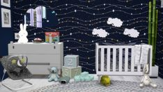 Furniture: Boys Nursery from Models Sims 4