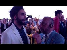 Marco Mengoni da Ferragamo: la prima volta col turbante