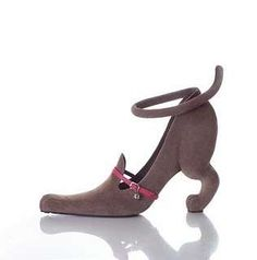 Flamingo-Inspired Shoes - These Animal High Heels Give Style to Your Step (GALLERY)-'Boy! My Dogs are BarkiNg! Lol'
