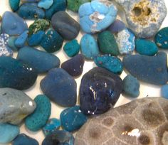 Collecting Leland Bluestones & Petoskeys on the shores of Lake Michigan - one of my favorite obsessions!!!!