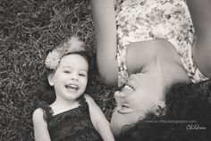 Mommy and daughter pose during a two year old photo shoot. A. Cotto Photography » South Florida Lifestyle Photography