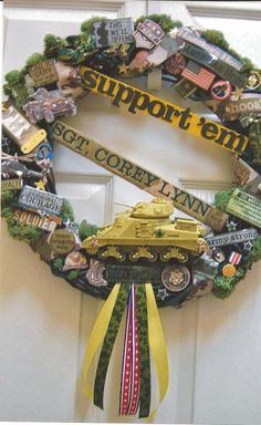 Special order...Support Our Troops Wreath - Army