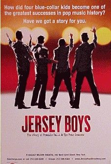 Jersey Boys musical in Durham, NC with Barbara Mary Hopkins. November 2012.