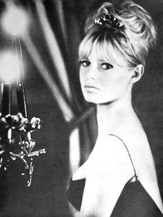 "simplymagdorable: "" Brigitte Bardot, ELLE (France) December 1961 """