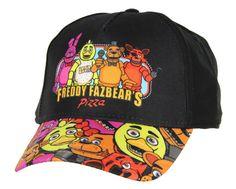 the best attitude e7473 3835d Fight Nights At Freddy s Fazbear s Pizza Snapback Hat Youth Size. Freddy  FazbearCaps For WomenFive ...