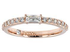 Tycoon (R) For Bella Luce (R) 1.00ctw Eterno (Tm) Rose Ring (.56ctw Dew)
