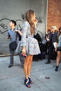 Obsessed with everything about this from the Ombre hair down to the Balenciaga heels.