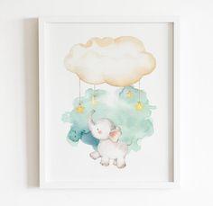 Baby Elephant Pictures, Scandi Art, Elephant Nursery Decor, Bedroom Prints, Printable Art, Printables, Playroom, Art Prints, Etsy