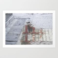Water Reflection II Art Print by Yarapoctli - $14.60