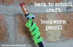 Google Image Result for http://www.theclassroomcreative.com/wp-content/uploads/2012/08/back-to-school-craft-bookworm-pencil.jpg