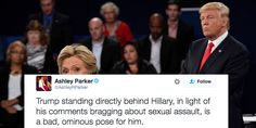 """""""The way Trump interacts with people is very evocative of men who are abusing and mistreating women."""""""