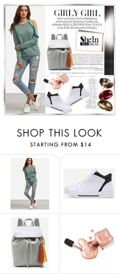 """shein 2"" by woman-1979 ❤ liked on Polyvore featuring MillÃ"