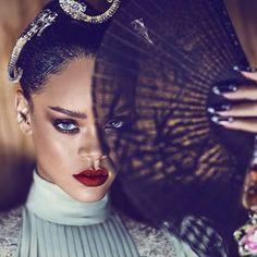 Rihanna for Dior Secret Garden 2015 Campaign Rihanna Cover, Rihanna Fan, Beyonce, Katy Perry, Jean Paul Gaultier, Britney Spears, Versace, Valentino, Dior