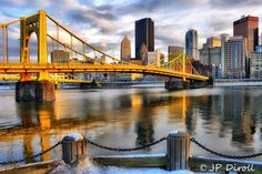 View more photos of Pittsburgh Bridges at http://www.oneburgh.com/pittsburgh-bridges.html