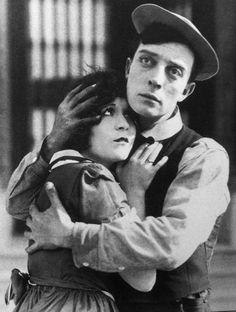 'Neighbors' 1920 Virginia Fox and Buster Keaton