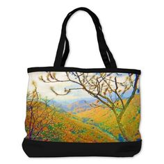 Hiking Way Above the Mountains Shoulder Bag on CafePress.com
