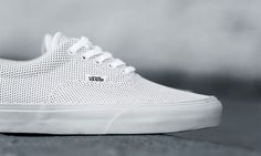 Vans Era Returns For Summer 2015 In Perforated Leather