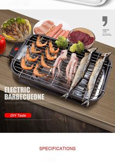 Portatile grill elettrico bistecchiera pane barbecue ☀myalleshop Barbecue, Bbq Grill, Grilling, Indoor Bbq, Flat Pan, Electric House, Teppanyaki, Drip Tray, How To Grill Steak