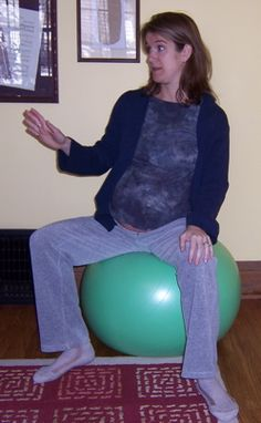 Daily balancing activities to help your womb and pelvis be more aligned for the baby that may make childbirth easier.