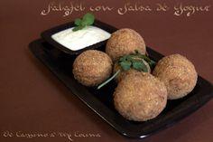 Falafel & Salsa de Yogur