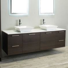 Eviva Luxury 72 in. Double Bathroom Vanity Set - EVVN823-72GOK