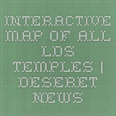 It Doesnt Matter Where You Are On The Map As Long As Your Going - Map of all lds temples in us