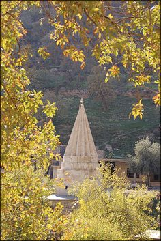 The Yazidi temple at Lalish, northern Iraq