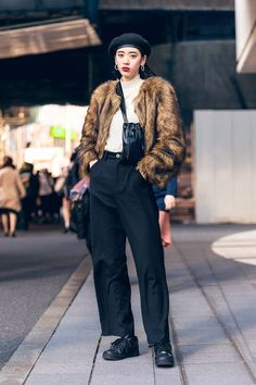 The Best Street Style From Tokyo Fashion Week Fall 2019 - Vogue streetwear supreme hypebeast mens fashion fashion sneakers of Tokyo Fashion, Fashion Male, Harajuku Fashion, Fashion Week, Fashion Trends, Fashion Top, Fashion Outfits, Vogue Fashion, Petite Fashion