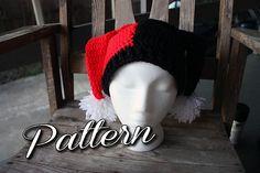 "Ravelry: Harley Quinn Hat pattern by Brandi ""Bee"" Thomas"