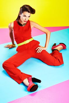 Nail It Mag - Color Blocking by Bonnie Holland, via Behance