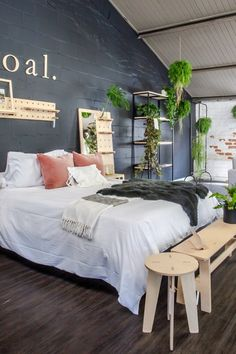 Setting up a shop in an industrial building. IsoBoard will make it feel much cooler in summer & warmer in winter + provides a beautiful finish. Renovations, Showroom, Industrial Shop, Thermal Insulation, Furniture, Insulation, Industrial Interiors, Bedroom, Home Decor