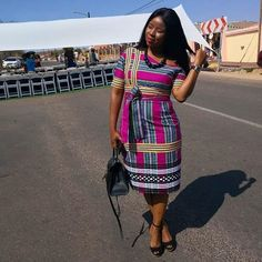 I adore african fashion outfits Venda Traditional Attire, Sepedi Traditional Dresses, South African Traditional Dresses, Traditional Fashion, Traditional Wedding, Latest African Fashion Dresses, African Print Fashion, African Attire, African Dress