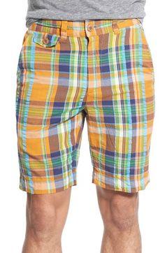 Madras Plaid Shorts