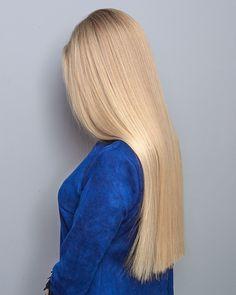 Airtouch❤️# airtouch_grivastudia work of the masters of Christina and Ok Beautiful Long Hair, Gorgeous Hair, Neck Length Hair, Silky Smooth Hair, Blonde Hair Looks, Platinum Blonde Hair, Very Long Hair, Shiny Hair, Straight Hairstyles