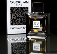 L'Homme Ideal is the newest fragrance of Guerlain's. The box has a very strong graphical design, appealing to the concept of modern men and digital fast world. The bottle itself is elegant and luxurious and masculine using sharp squares cuts with a black cap. The perfume has a warm yellow shade and it gives the bottle a very refined look.