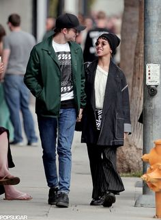 The Cutest Pictures of Robert Pattinson and FKA Twigs: Since they began dating last August, Robert Pattinson and FKA Twigs have taken their love all over the globe, popping up in LA; London; Brussels, Belgium; NYC; and even, Paris.
