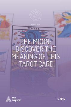 "The Moon Card is a card of the tarot deck which helps compose the Major Arcana. The Major Arcana is the first 22 cards of the deck, which can be called the ""trump cards"". Zodiac Signs Pisces, Astrology And Horoscopes, Trump Card, Spiritual Meaning, Major Arcana, Psychic Abilities, Subconscious Mind, Tarot Reading, Tarot Decks"
