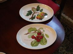 A personal favorite from my Etsy shop https://www.etsy.com/listing/277480224/sale-portmeirion-pomona-steak-plates