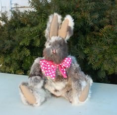 Old Brother Rabbit  http://www.stearnsybears.com/for-sale/old-brother-rabbit