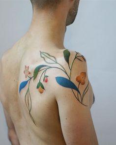 healed - original drawing created at allen gardens, ty 🌈 Pretty Tattoos, Love Tattoos, Tattoo You, Beautiful Tattoos, Body Art Tattoos, Unique Tattoos, New Tattoos, Tatoos, Shoulder Tattoos