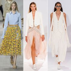 Styling Tips From Spring 2015 Fashion Week Runways | POPSUGAR ... ===================== --------------------------------  2015 SPRING FASHION!! UP TO DATE! --------------------------------  Timothy John Designs timothyjohndesign... semiprecious jewelry necklace earrings bracelets trendy luxurious handcrafted made in NYC USA~!