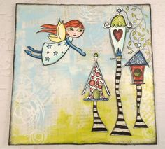 PaperArtsy: 2015 #11 Wish {by Trish Latimer}